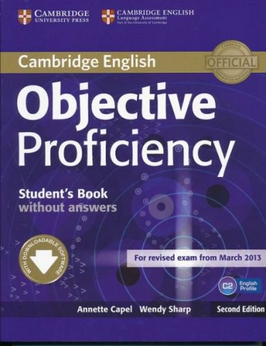 Objective Proficiency 2nd Edition - Student's Book without answers with Downloadable Softw cena od 566 Kč