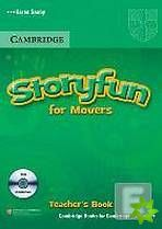 Storyfun for Starters, Movers and Flyers - Movers Teacher's Book with Audio CDs cena od 456 Kč