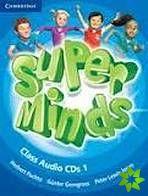 Super Minds 1 - Class CDs (3) cena od 680 Kč