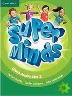 Super Minds 2 - Class CDs (3) cena od 680 Kč