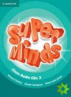 Super Minds 3 - Class CDs (3) cena od 680 Kč