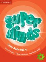 Super Minds 4 - Class CDs (3) cena od 719 Kč