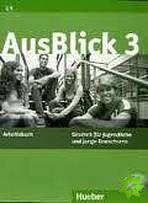 AusBlick 3 - Arbeitsbuch mit integrierter Audio-CD cena od 284 Kč