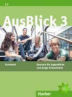 AusBlick 3 - Kursbuch cena od 296 Kč