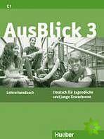 AusBlick 3 - Lehrerhandbuch cena od 372 Kč