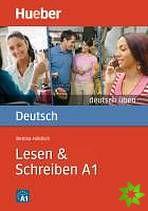 Deutsch üben - Lesen + Schreiben A1 cena od 207 Kč