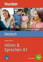 Deutsch üben - Hören + Sprechen A1 cena od 222 Kč