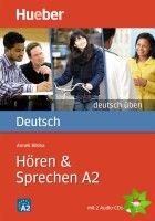 Deutsch üben - Hören + Sprechen A2 cena od 220 Kč