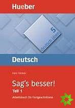 Deutsch üben - Sag's besser! cena od 399 Kč