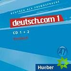 Deutsch.com 1 - Audio-CDs zum Kursbuch cena od 536 Kč