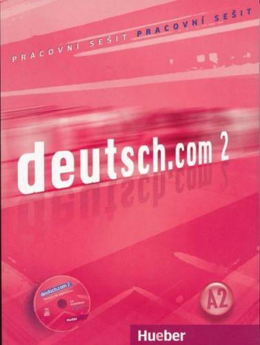 Deutsch.com 2 - Arbeitsbuch Tschechisch mit Audio-CD zum AB cena od 252 Kč
