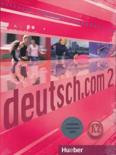 Deutsch.com 2 - Paket - KB + AB Tschechisch mit Audio-CD zum AB cena od 434 Kč