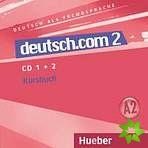 Deutsch.com 2 - Audio-CDs zum Kursbuch cena od 536 Kč