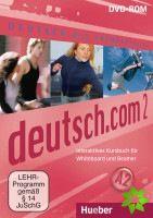 Deutsch.com 2 - Interaktives Kursbuch DVD-ROM cena od 608 Kč