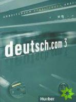 Deutsch.com 3 - Arbeitsbuch mit Audio-CD zum AB cena od 276 Kč