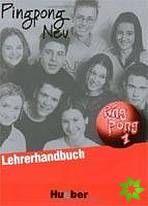 Pingpong neu 1 - Lehrerhandbuch cena od 284 Kč