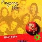 Pingpong neu 1 - 2 Audio-CDs zum Lehrbuch cena od 476 Kč