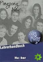 Pingpong neu 3 - Lehrerhandbuch cena od 316 Kč