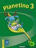 Planetino 3 - Arbeitsbuch cena od 232 Kč