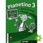 Planetino 3 - Lehrerhandbuch cena od 304 Kč