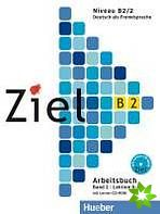 Ziel B2/2 - Arbeitsbuch mit Lerner-CD/CD-ROM cena od 179 Kč