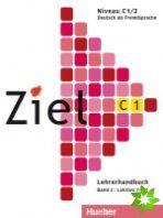 Ziel C1/2 - Lehrerhandbuch cena od 396 Kč