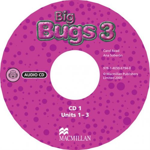 Big Bugs 3 - Audio CD cena od 620 Kč