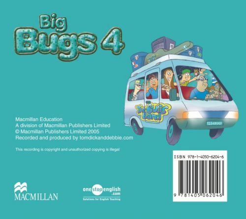 XXL obrazek Big Bugs 4 - Audio CD