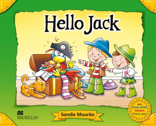 Captain Jack - Hello Jack - Pupil's Book Pack cena od 319 Kč