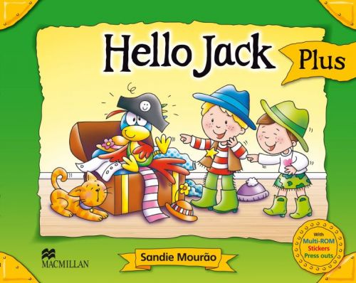 XXL obrazek Captain Jack - Hello Jack - Plus Book Pack