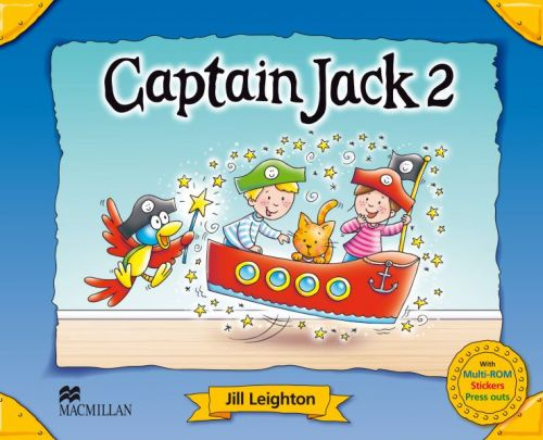XXL obrazek Captain Jack 2 - Pupil's Book Pack