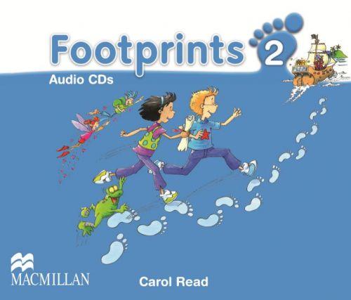 Footprints Level 2 - Audio CD cena od 592 Kč