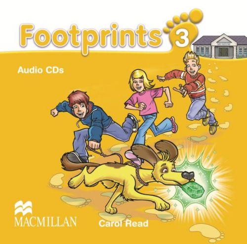 Footprints Level 3 - Audio CD cena od 620 Kč