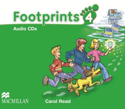 Footprints Level 4 - Audio CD cena od 620 Kč
