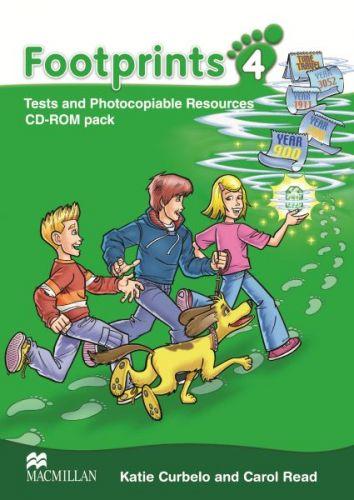 Footprints Level 4 - Photocopiables CD cena od 832 Kč