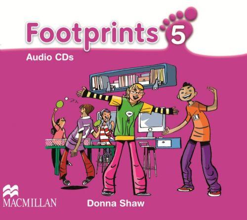 Footprints Level 5 - Audio CD cena od 620 Kč