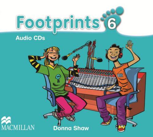 Footprints Level 6 - Audio CD cena od 592 Kč