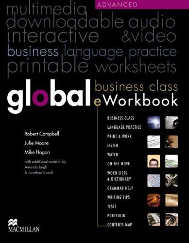 Global Advanced - Business e-Workbook cena od 580 Kč