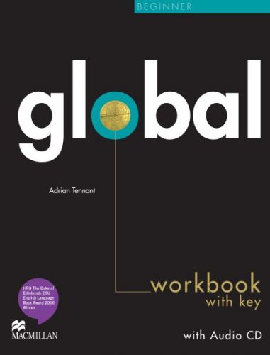 Global Beginner - Workbook with key + CD cena od 252 Kč