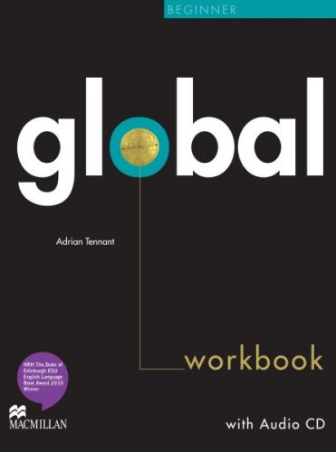 Global Beginner - Workbook without key + CD cena od 252 Kč