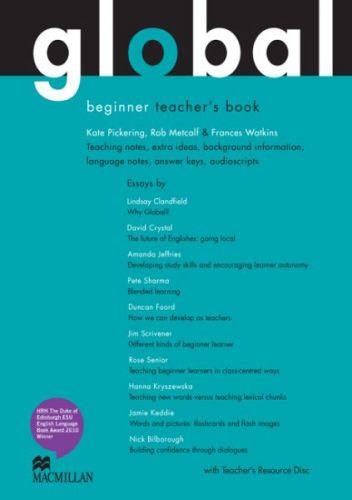 Global Beginner - Teacher`s Book + Resource CD Pack cena od 760 Kč