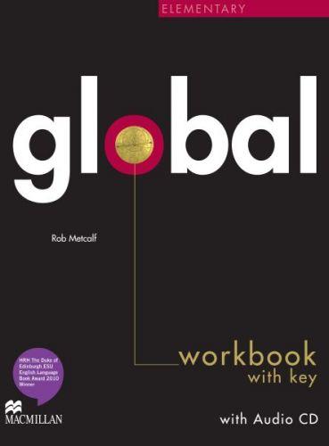 Global Elementary - Workbook with key + CD cena od 252 Kč