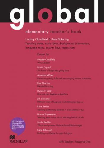 Global Elementary - Teacher`s Book + Resource CD Pack cena od 796 Kč