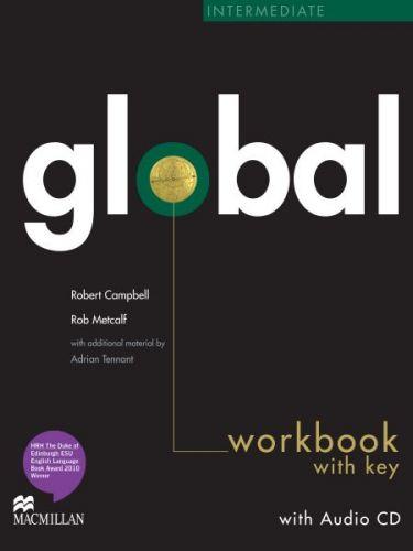 Global Intermediate - Workbook with key + CD cena od 252 Kč