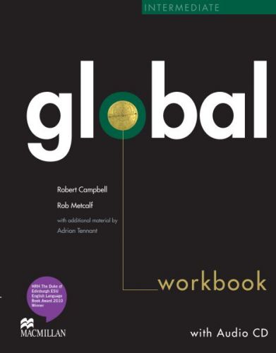 Global Intermediate - Workbook without key + CD cena od 252 Kč
