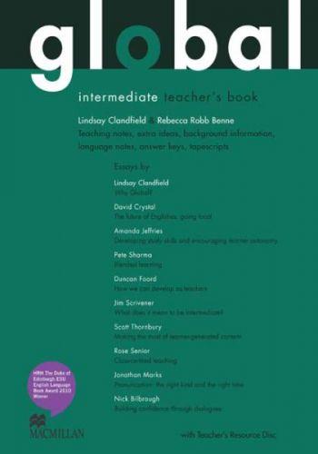 Global Intermediate - Teacher`s Book + Resource CD Pack cena od 796 Kč