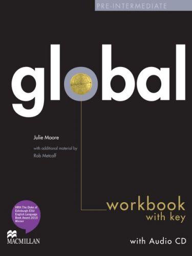 Global Pre-intermediate - Workbook with key + CD cena od 239 Kč