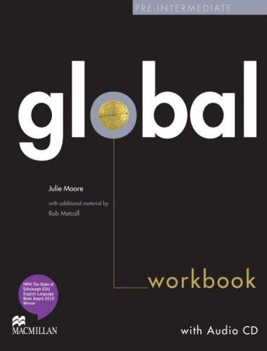 Global Pre-intermediate - Workbook without key + CD cena od 252 Kč