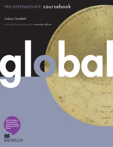 Global Pre-intermediate - Coursebook cena od 520 Kč
