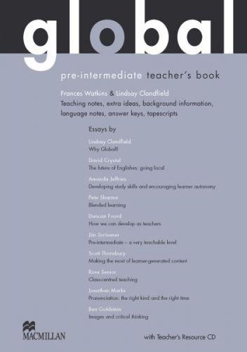 Global Pre-intermediate - Teacher`s Book + Resource CD Pack cena od 707 Kč
